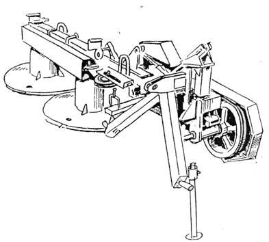 Чертежи роторной косилки для минитрактора